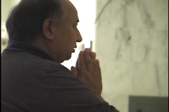 Hindus Praying at Shrines 6 Stock Footage