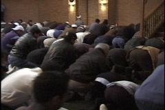 Islam Worship 8 Stock Footage