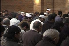 Islam Worship 9 Stock Footage