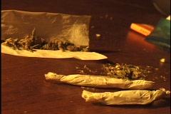 Marijuana Joint 2 Stock Footage