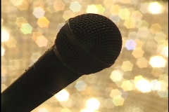 Microphone Stock Footage