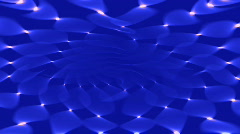 Soft blue curves background Stock Footage