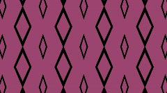 Pink diamonds background Stock Footage