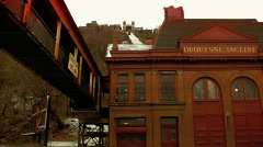 Duquesne Incline 133 Stock Footage