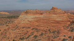 Vermilion Cliffs – South Coyote Buttes – Zoom In Stock Footage