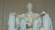 Stock Video Footage of Close-up of Lincoln Memorial in Washington, D.C. – Zoom In