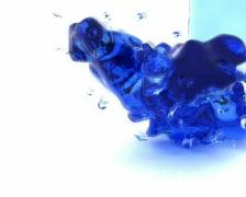World of liquid (water fall 1) Stock Footage
