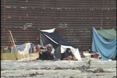 Poverty in Mexico - stock footage