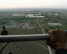 From hang-glider Stock Footage