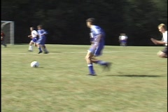 Stock Video Footage of Soccer, Goalie Save
