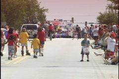 Street Parade Stock Footage