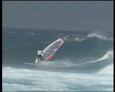 Windsurfing Hawaii 10 Stock Footage