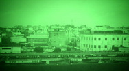 Iraq night vision Stock Footage