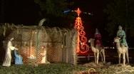 Nativity Scene 04 Stock Footage