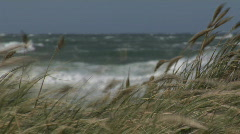 Storm Denmark Waves  Stock Footage
