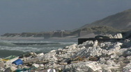 Storm Denmark Windsurfer Stock Footage