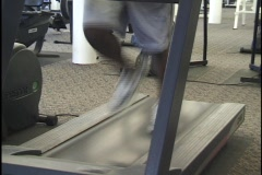 Work Out, Treadmill - stock footage
