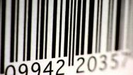 Stock Video Footage of Bar Code