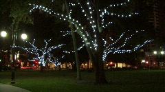 Christmas Lights 01 Stock Footage