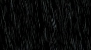 Rainfall Element 01 w/ Alpha (25fps) Stock Footage
