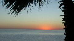 Sunrise Sea of Cortez ocean time lapse Stock Footage