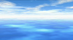 Tranquil Sky Stock Footage
