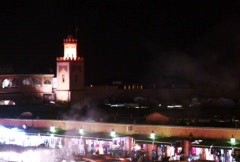 Maroc mosque Stock Footage