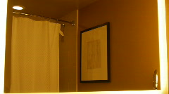 Luxury hotel bathroom Stock Footage