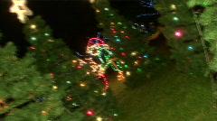 Christmas Tree Twist Stock Footage