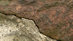 Stone Wall Close Up Stock Footage