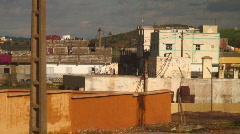 Arabic buildings rural Stock Footage