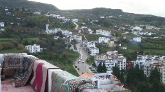 Chefchaouen rif mountains Stock Footage