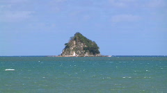 Scoutcap island Stock Footage