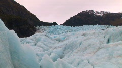 Glacier New Zealand Stock Footage