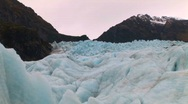 Stock Video Footage of glacier New Zealand