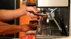 Coffee Machine Stock Footage