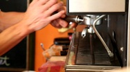 Coffee Machine Stock Footage