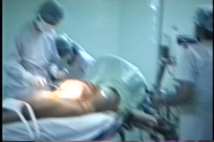 Stock Video Footage of Cesarean -Medical