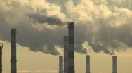 Ecology pollution Stock Footage