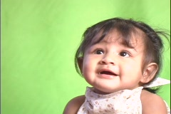 Baby Smile Stock Footage
