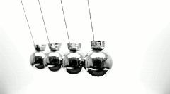 Newtons pendulum - HD loop - stock footage