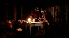 Furniture maker Nativity P HD Stock Footage