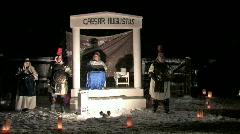 Caesar Augustus Nativity P HD - stock footage