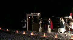Tax collector Caesar Nativity pan P HD Stock Footage