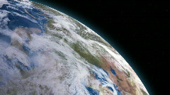 Earth Orbit 151 - Left Stock Footage