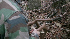 Deer Antler Rattles Stock Footage
