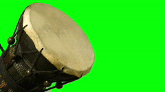 Bongo Drum Green Screen 01 Stock Footage