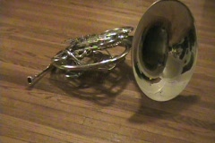French Horn 02 Stock Footage