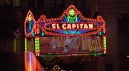 El Capitan Theatre Hollywood Stock Footage
