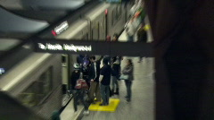Los Angeles Metro Stock Footage